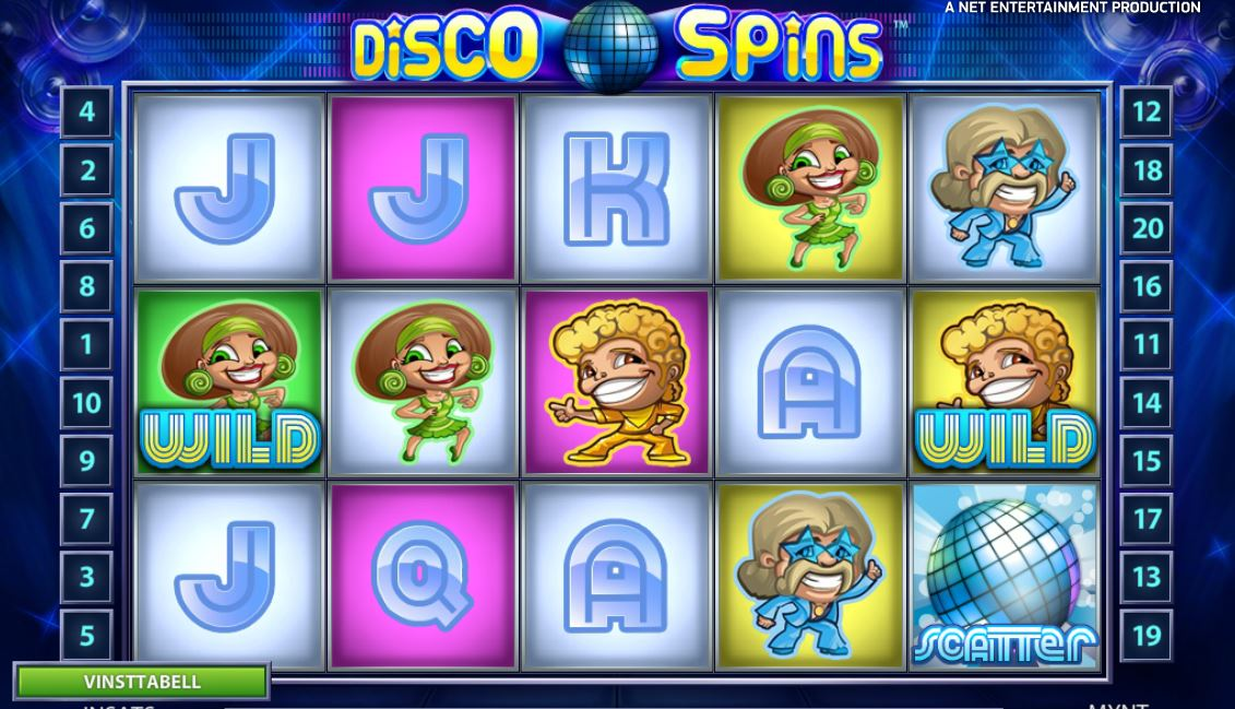 discospins videoslot