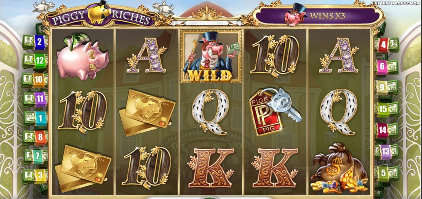Piggy riches slot maskin