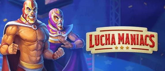 Få 20 freespins till Lucha Maniacs just nu