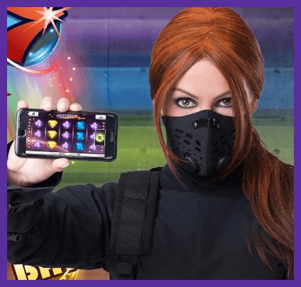 ninja casino i mobil