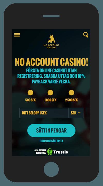 no account casino mobil