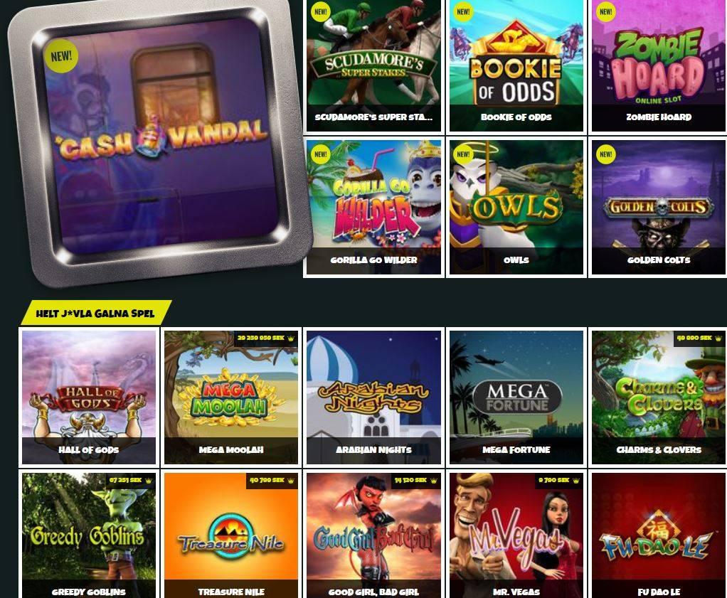 prank casino skärmdumpen